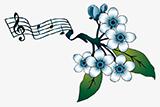 Popkoor Blossom Logo